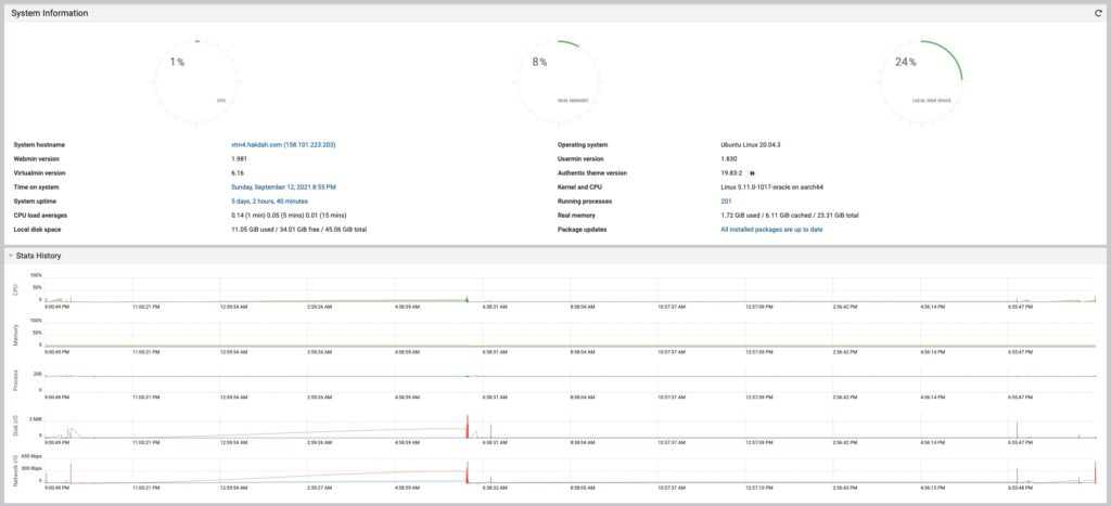 Oracle Cloud, Ampere A1 in action.